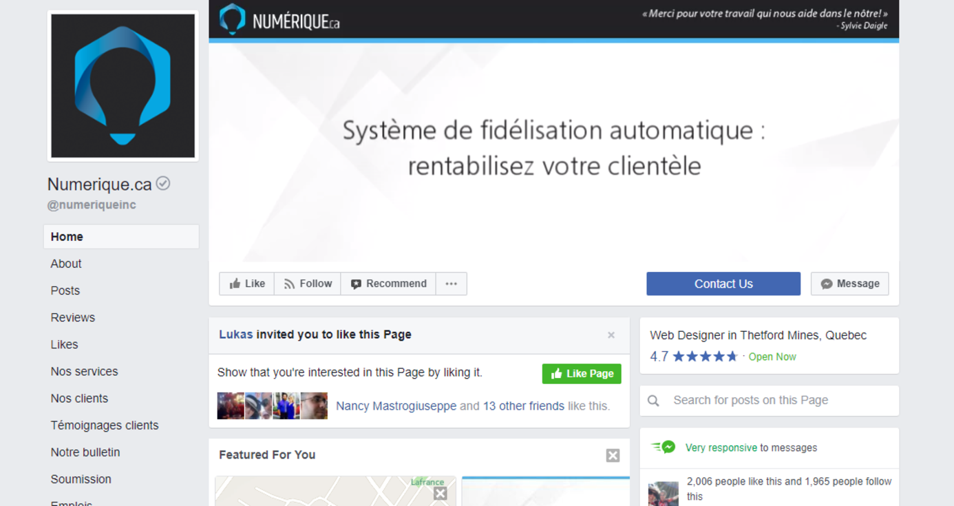 New on Facebook : Videos in your page's header!