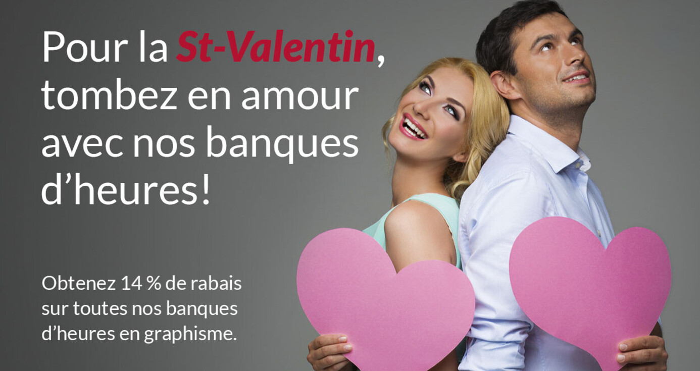 Valentine's Day Special: 15% OFF on our hour banks!